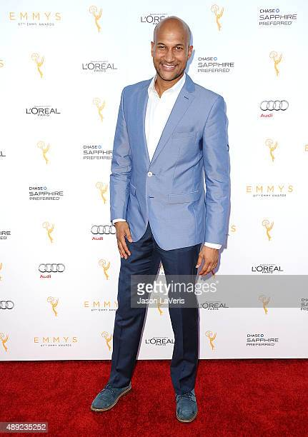 Actor KeeganMichael Key attends the Television Academy's celebration for the 67th Emmy Award nominees for outstanding performances at Pacific Design...