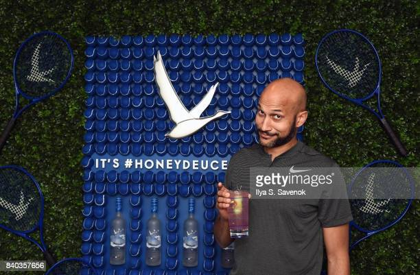 Actor Keegan-Michael Key poses during Grey Goose Toasts To Opening Night At The 2017 US Open at USTA Billie Jean King National Tennis Center on...