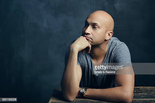 Actor KeeganMichael Key poses for a portrait in the Getty Images SXSW Portrait Studio Powered By Samsung on March 13 2016 in Austin Texas