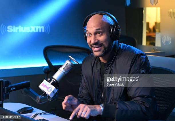 Actor KeeganMichael Key visits Morning Mash Up at SiriusXM Studios on October 25 2019 in New York City
