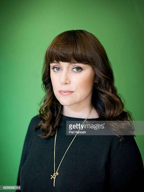 Actor Keeley Hawes is photographed for the Observer on August 5 2013 in London England