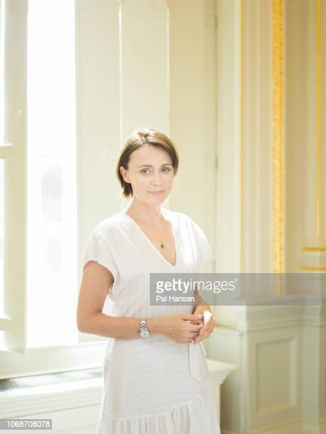 Actor Keeley Hawes is photographed for the Sunday Times on July 24 2018 in London England
