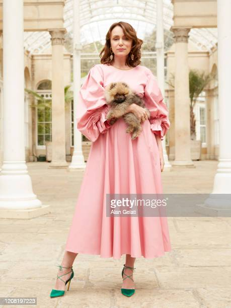 Actor Keeley Hawes is photographed for You magazine on May 2 2019 in London England