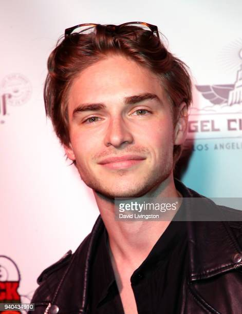 Actor Keenan Tracey attends the 6th Annual Rock Against MS benefit concert and award show at the Los Angeles Theatre on March 31 2018 in Los Angeles...