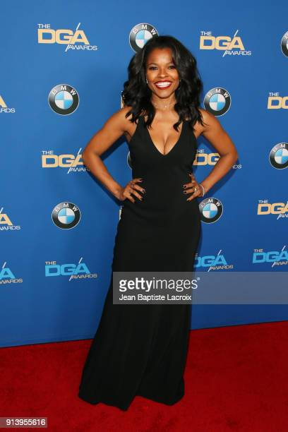Actor Keesha Sharp attends the 70th Annual Directors Guild Of America Awards at The Beverly Hilton Hotel on February 3 2018 in Beverly Hills...
