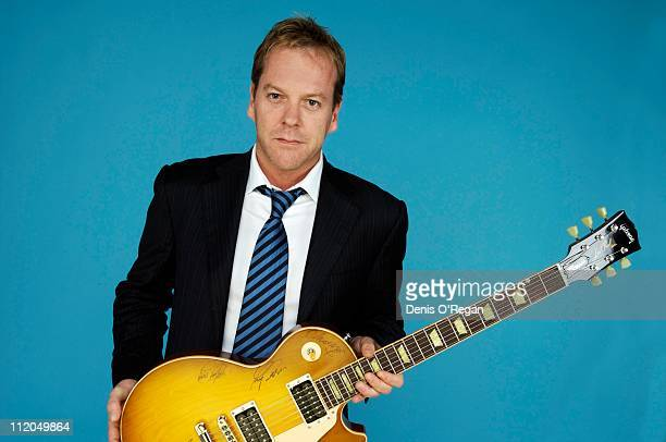 Actor Keifer Sutherland at the Concert For Diana 2007