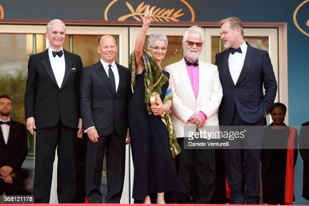 Actor Keir Dullea, Stanley Kubrick's daughter Katharina Kubrick, Stanley Kubrick's producing partner and brother-in-law Jan Harlan, director...