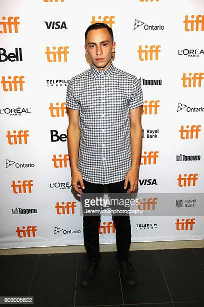 Actor Keir Gilchrist attends the Katie Says Goodbye premiere held at TIFF Bell Lightbox during the Toronto International Film Festival on September...
