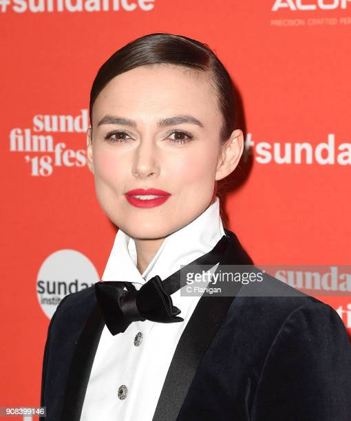 Actor Keira Knightley attends the 'Colette' Premiere during the 2018 Sundance Film Festival at Eccles Center Theatre on January 20 2018 in Park City...