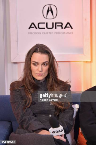 Actor Kiera Knightly of 'Collette' attends the Acura Studio at Sundance Film Festival 2018 on January 21 2018 in Park City Utah