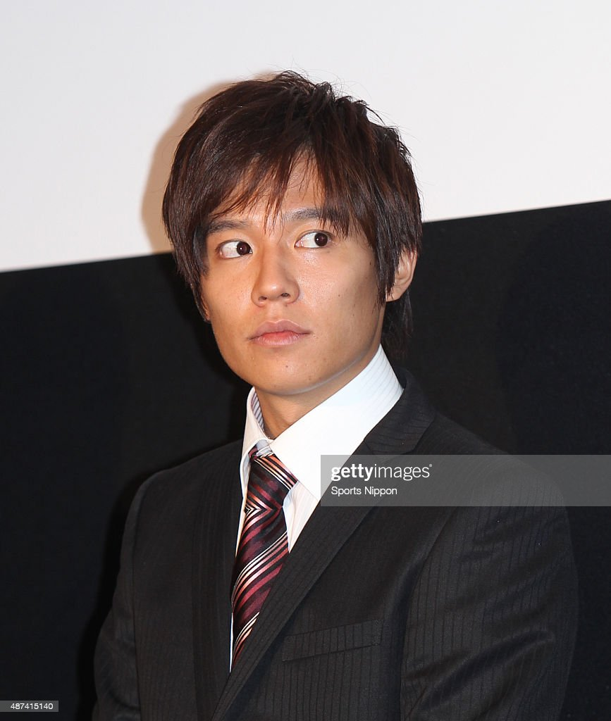 Keisuke Koide attends Press Conference In Tokyo : News Photo