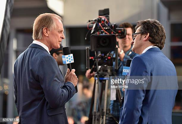 Actor Keith Carradine and TCM host Ben Mankiewicz attend 'All The President's Men' premiere during the TCM Classic Film Festival 2016 Opening Night...