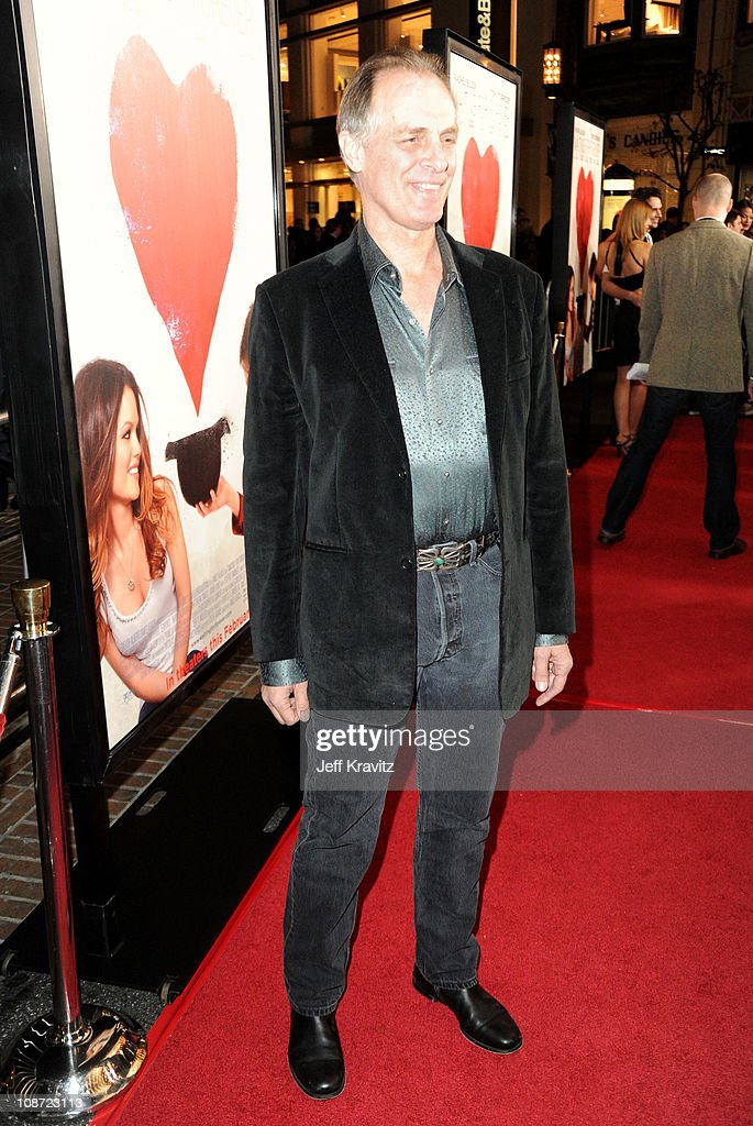 Actor Keith Carradine arrives at the Los Angeles premiere of 'Waiting for Forever' held at Pacific Theaters at the Grove on February 1, 2011 in Los Angeles, California.