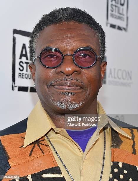 Actor Keith David arrives to 'The Big Easy Juke Joint' party hosted by Aid Still Required and sponsored by Variety at Bugatta on August 22 2012 in...