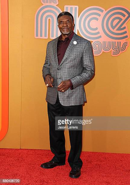 Actor Keith David attends the premiere of 'The Nice Guys' at TCL Chinese Theatre on May 10 2016 in Hollywood California