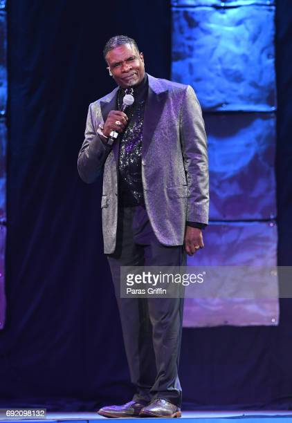 Actor Keith David performs onstage at 2017 Andrew Young International Leadership Awards and 85th Birthday Tribute at Philips Arena on June 3 2017 in...
