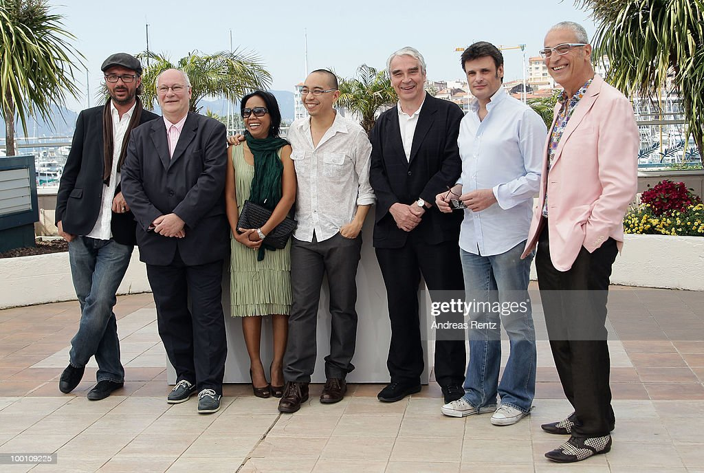 Actor Keith Griffith,Wallapa Mongkolprasert, director Apichatpong Weerasethakul, actors Keith Griiffth,Charles De Meaux,Luis Minarro attend the 'Uncle Boonmee Who Can Recall His Past Lives' Photocall at the Palais des Festivals during the 63rd Annual Cannes Film Festival on May 21, 2010 in Cannes, France.