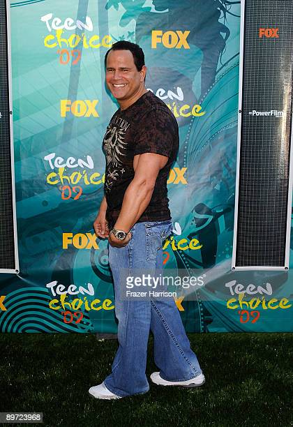 Actor Keith Middlebrook arrives at the 2009 Teen Choice Awards held at Gibson Amphitheatre on August 9 2009 in Universal City California