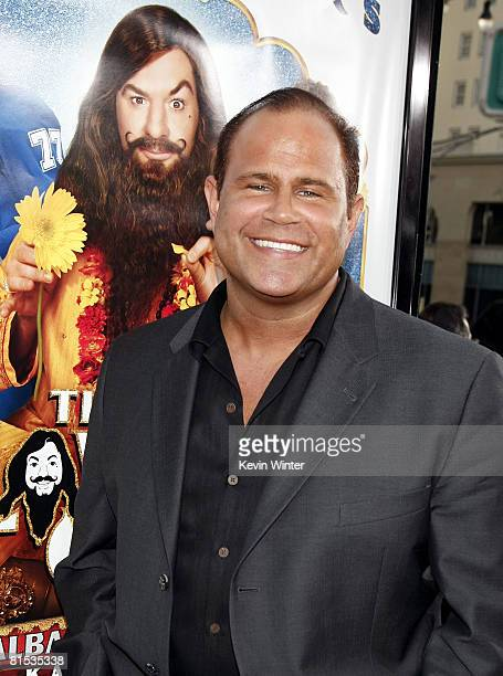 Actor Keith Middlebrook arrives at the premiere of Paramount Picture's The Love Guru at the Chinese Theater on June 11 2008 in Los Angeles California