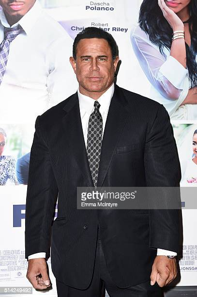 Actor Keith Middlebrook attends the premiere of Lionsgate's 'The Perfect Match' at ArcLight Hollywood on March 7 2016 in Hollywood California