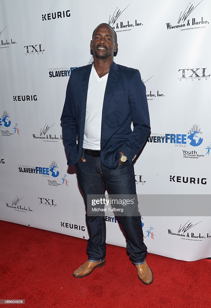 Actor Keith Robinson attends The Human Rights Hero Awards presented by Marisol Nichols' Foundation for a Slavery Free World and Youth for Human Rights International at Beso on September 21, 2015 in Hollywood, California.