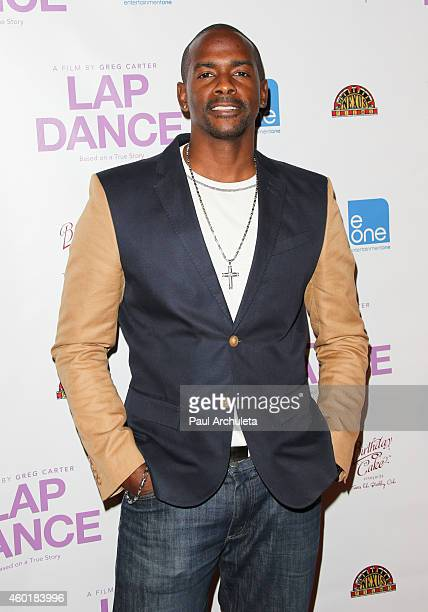 Actor Keith Robinson attends the Los Angeles premiere of Lap Dance at ArcLight Cinemas on December 8 2014 in Hollywood California