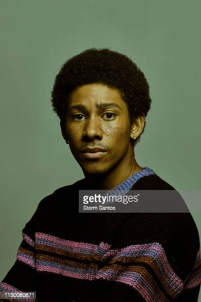 Actor Keiynan Lonsdale is photographed for Spec on February 6 2019 in Los Angeles California