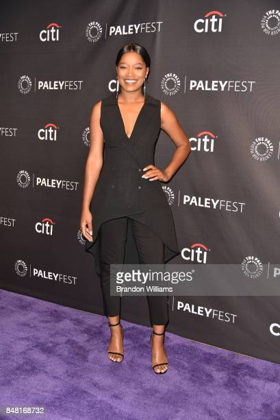Actor Keke Palmer attends For Media's 11th Annual PaleyFest Fall TV Previews for EPIX at The Paley Center for Media on September 16 2017 in Beverly...