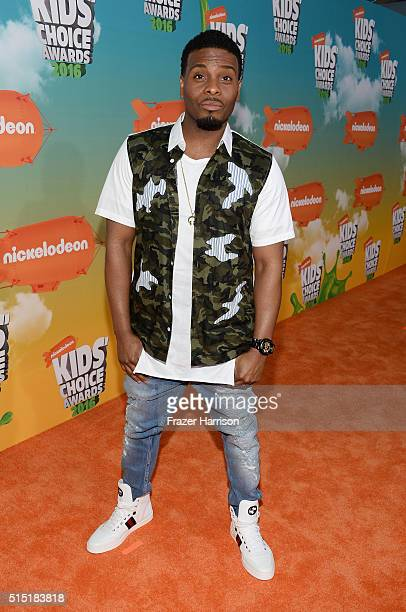 Actor Kel Mitchell attends Nickelodeon's 2016 Kids' Choice Awards at The Forum on March 12 2016 in Inglewood California