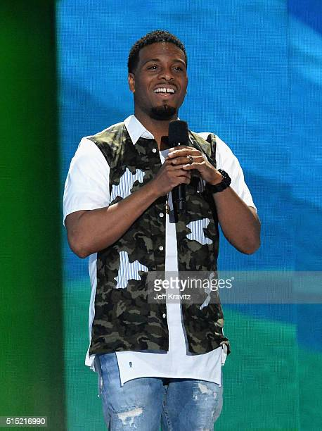 Actor Kel Mitchell onstage during Nickelodeon's 2016 Kids' Choice Awards at The Forum on March 12 2016 in Inglewood California