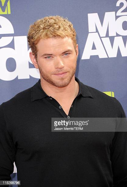 Actor Kellan Lutz arrives at the 2011 MTV Movie Awards at Universal Studios' Gibson Amphitheatre on June 5 2011 in Universal City California