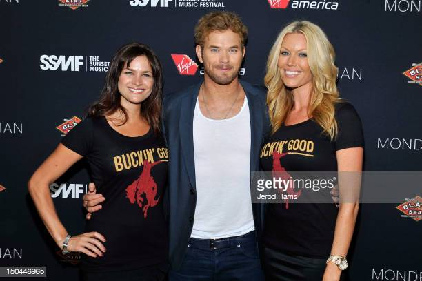 Actor Kellan Lutz arrives at the 5th Annual Sunset Strip Music Festival official VIP party sponsored by Black Star Beer and Virgin America at Sky Bar...