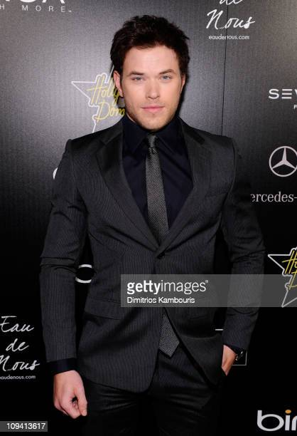 Actor Kellan Lutz arrives at the Hollywood Domino Gala presented by Circa and Bing in support of Seven Bar Foundation held at Sunset Tower on...