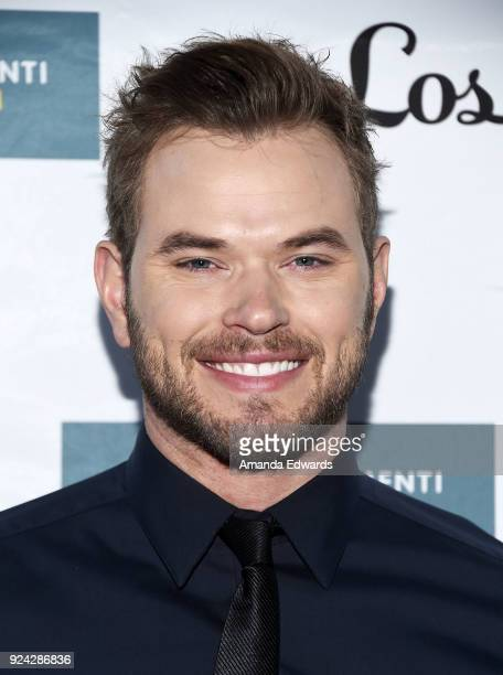 Actor Kellan Lutz arrives at the Mitchell Gold Bob Williams Birthday Bash to benefit The Tyler Clementi Foundation at the Mitchell Gold Bob Williams...