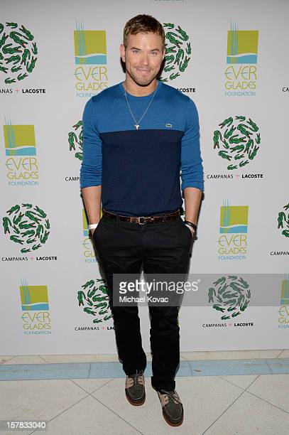 Actor Kellan Lutz attends a LACOSTE + CAMPANAS Celebration during Art Basel Miami Beach at Soho Beach House on December 6, 2012 in Miami Beach,...