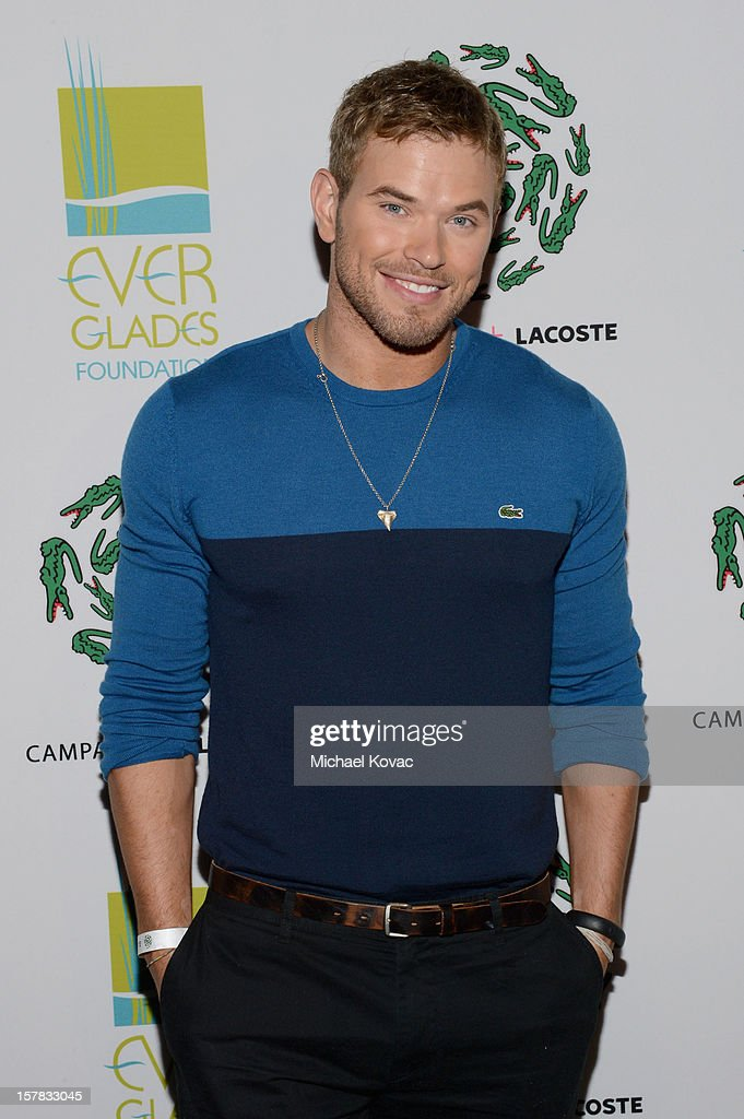 Actor Kellan Lutz attends a LACOSTE + CAMPANAS Celebration during Art Basel Miami Beach at Soho Beach House on December 6, 2012 in Miami Beach, Florida.