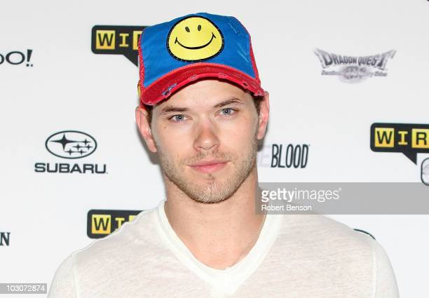 Actor Kellan Lutz attends Day 3 of the WIRED Cafe at Comic-Con 2010 held at the Omni Hotel on July 24, 2010 in San Diego, California.