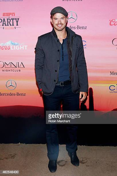 Actor Kellan Lutz attends ESPN the Party at WestWorld of Scottsdale on January 30 2015 in Scottsdale Arizona