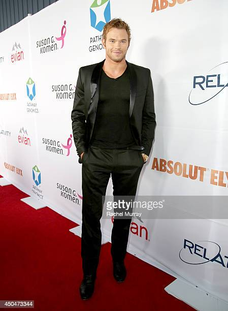 Actor Kellan Lutz attends PATHWAY TO THE CURE A fundraiser benefiting Susan G Komen presented by Pathway Genomics Relativity Media and evian Natural...
