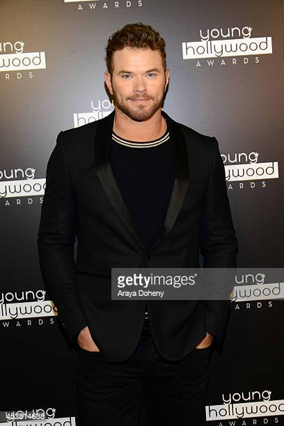 Actor Kellan Lutz attends the 2014 Young Hollywood Awards brought to you by Mr Pink held at The Wiltern on July 27 2014 in Los Angeles California