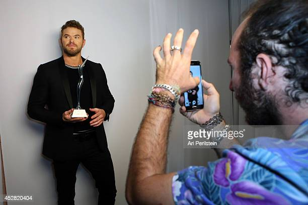 Actor Kellan Lutz attends the 2014 Young Hollywood Awards brought to you by Samsung Galaxy at The Wiltern on July 27 2014 in Los Angeles California