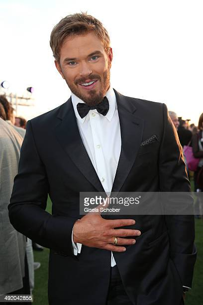 Actor Kellan Lutz attends The Expendables 3 Official Cast Dinner Party at Gotha Club on May 18 2014 in Cannes France
