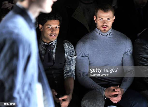 Actor Kellan Lutz attends the General Idea Fall 2012 fashion show during MercedesBenz Fashion Week at The Studio at Lincoln Center on February 10...