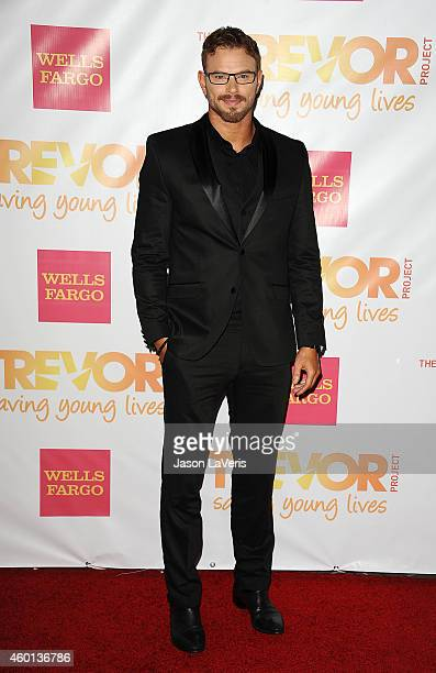 Actor Kellan Lutz attends TrevorLIVE Los Angeles at the Hollywood Palladium on December 7 2014 in Los Angeles California