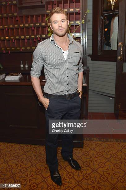 Actor Kellan Lutz attends Vanity Fair and FIAT celebration of 'Young Hollywood' during Vanity Fair Campaign Hollywood at No Vacancy on February 25...