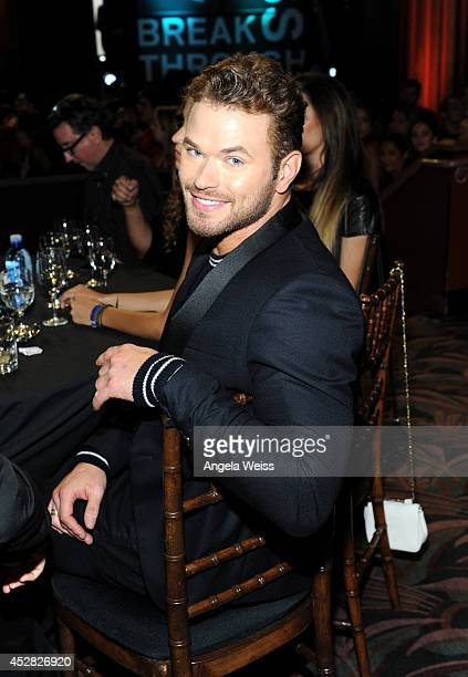 Actor Kellan Lutz in the audience at the 2014 Young Hollywood Awards brought to you by Samsung Galaxy at The Wiltern on July 27 2014 in Los Angeles...