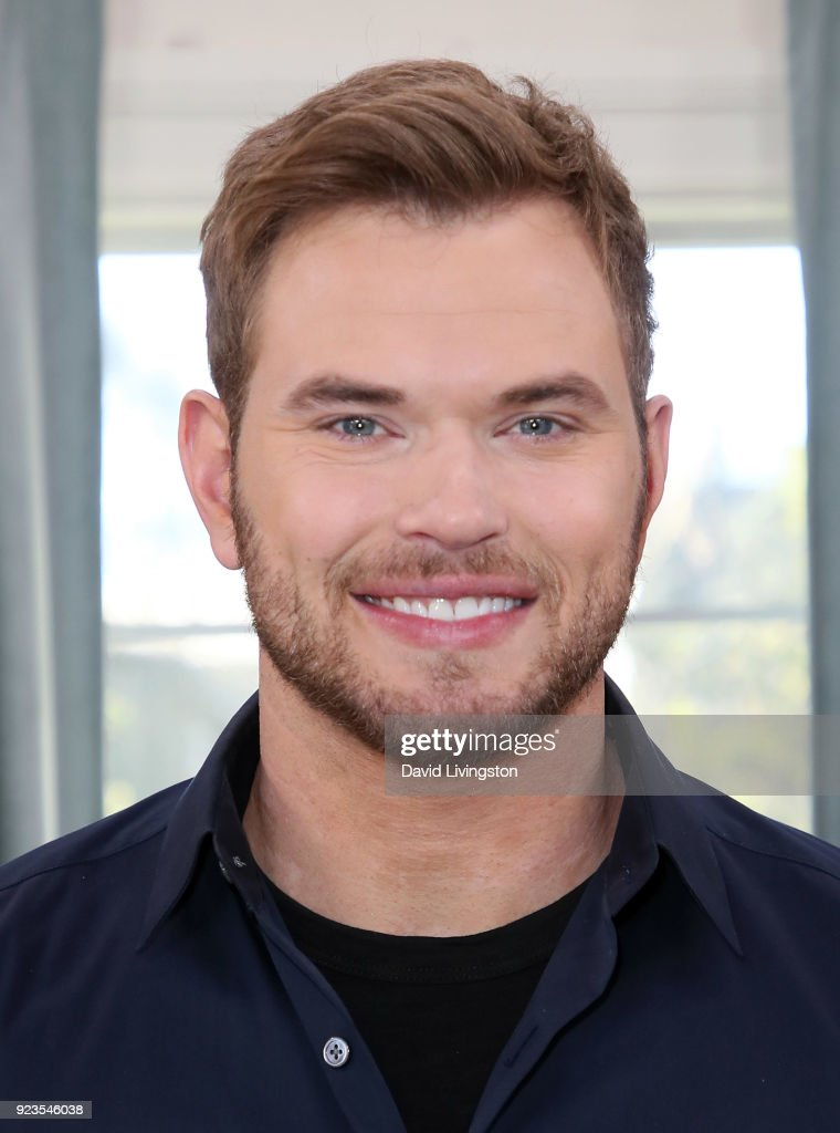 Actor Kellan Lutz visits Hallmark's 'Home & Family' at Universal Studios Hollywood on February 23, 2018 in Universal City, California.