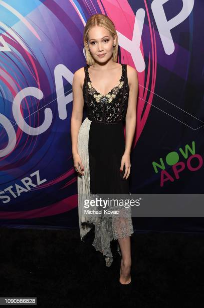 Actor Kelli Berglund from 'Now Apocalypse' attends Starz Vanity Fair Sundance Party at on January 27 2019 in Park City Utah