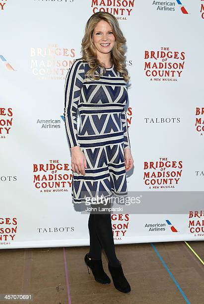 Actor Kelli O'Hara attends 'The Bridges of Madison County' Cast Photo Call at The New 42nd Street Studios on December 16 2013 in New York City