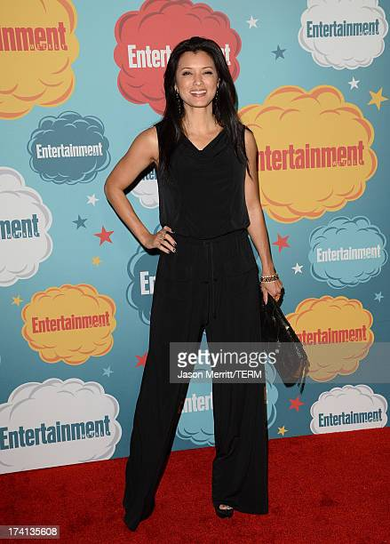 Actor Kelly Hu attends Entertainment Weekly's Annual ComicCon Celebration at Float at Hard Rock Hotel San Diego on July 20 2013 in San Diego...